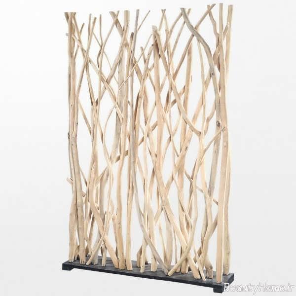 پارتیشن چوبی و زیبا