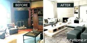 ایده بازسازی خانه قدیمی