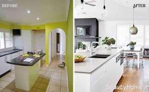 بازسازی لاکچری آشپزخانه
