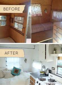 بازسازی عالی اتاق خواب چوبی