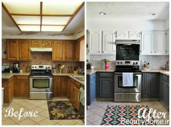 آشپزخانه با طراحی امروزی