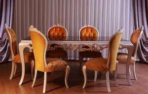 میز ناهار خوری کلاسیک 4 نفره