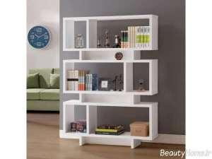 کتابخانه شیک و چوبی