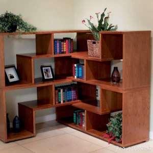 قفسه کتاب شیک و جدید