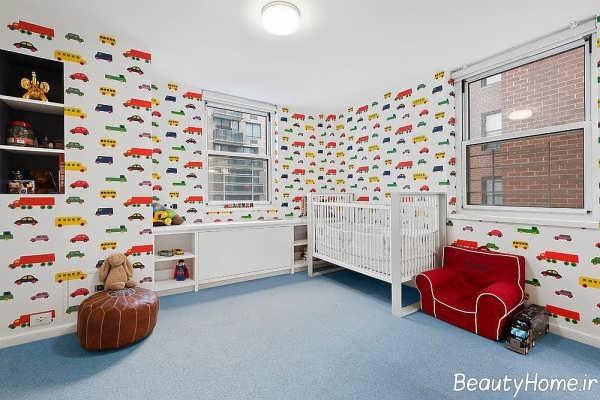 طراحی زیبا و کاربردی اتاق نوزاد