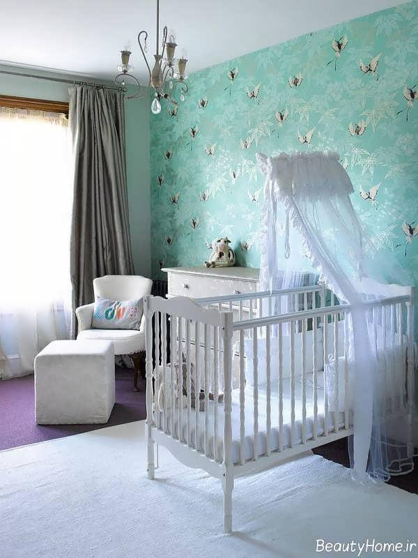 دکوراسیون زیبا و بی نظیر اتاق نوزاد
