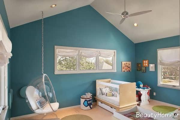دکوراسیون شیک و مدرن اتاق نوزاد