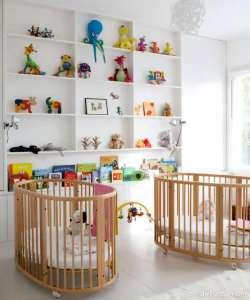 دکوراسیون اتاق نوزاد دوقلو