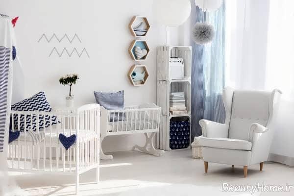 دکوراسیون مدرن اتاق نوزاد
