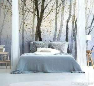 کاغذ دیواری پوستری برای اتاق خواب