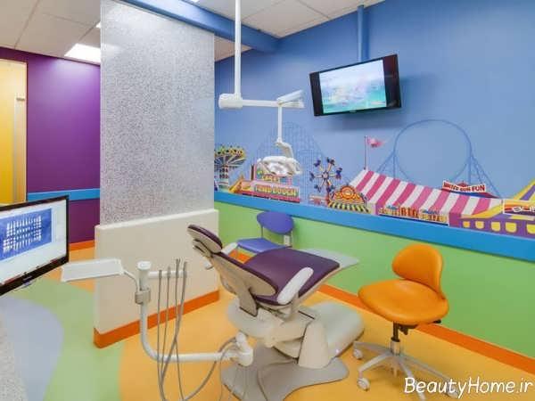 دیزاین داخلی مطب اطفال