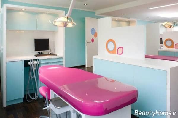 طراحی داخلی مطب اطفال