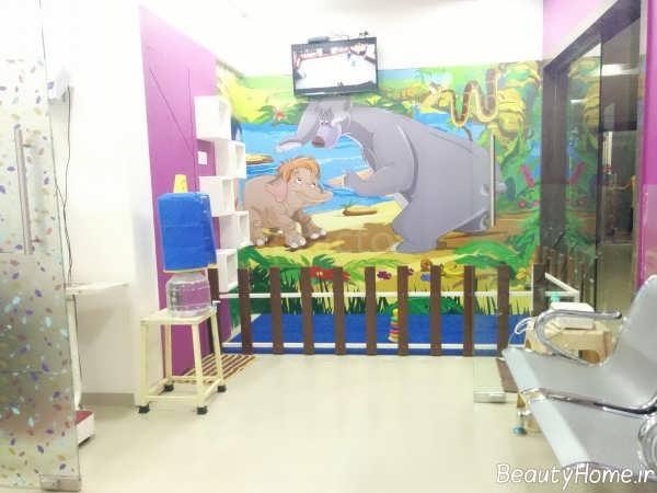 دکوراسیون زیبا و شیک مطب پزشک