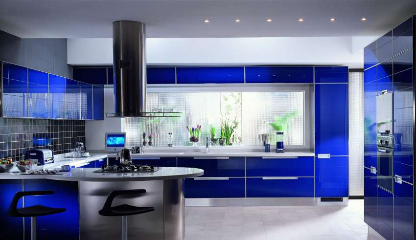 دکوراسیون آشپزخانه های پنجره دار