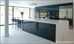 کابینت آشپزخانه مدرن و ساده