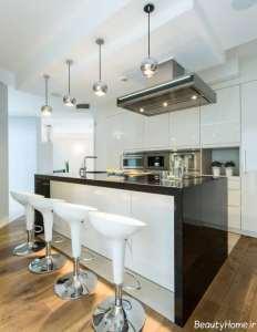مدل کابینت زیبا و شیک برای آشپزخانه