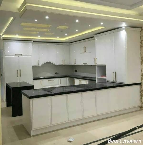 مدل کابینت آشپزخانه شیک و زیبا