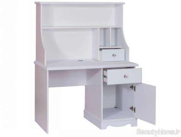 مدل میز تحریر سفید