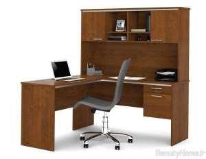مدل میز تحریر کتابخانه دار شیک و زیبا