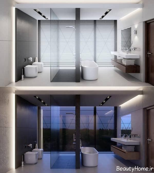 نورپردازی حمام مستر