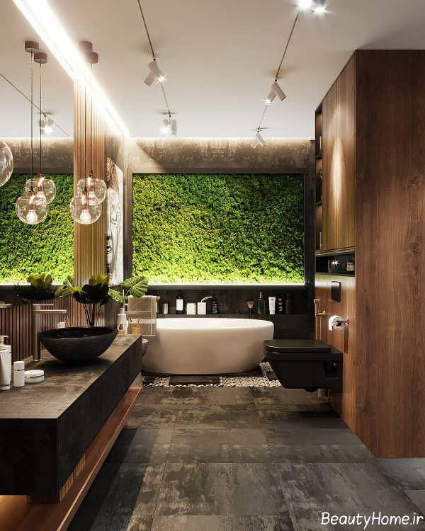 نورپردازی داخلی حمام مستر