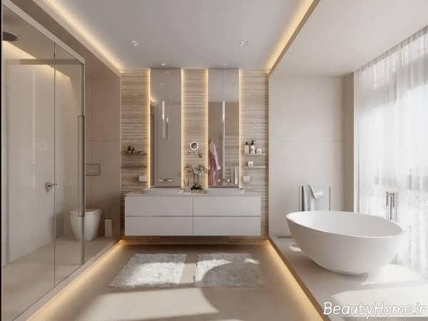 نورپردازی مخفی حمام