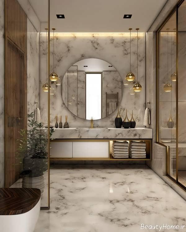 دکوراسیون حمام لوکس