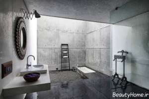 دکوراسیون خاکستری حمام