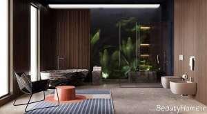 دکوراسیون زیبا و شیک حمام مستر