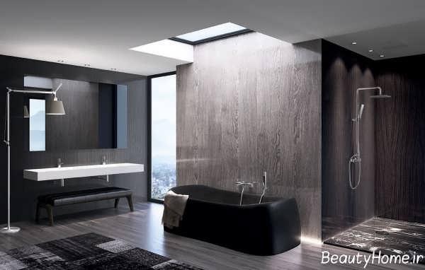 دکوراسیون زیبا و کاربردی حمام