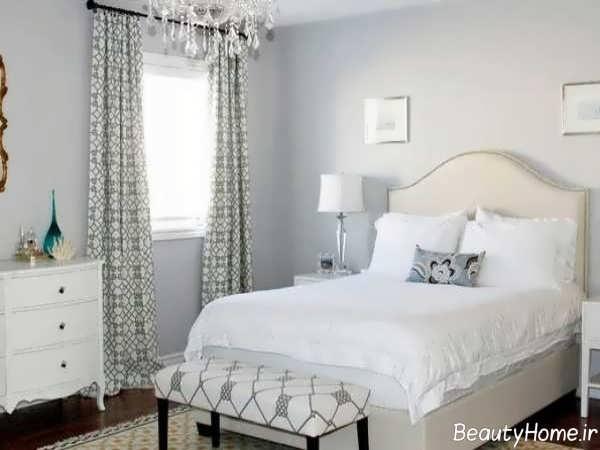 دکوراسیو سفید اتاق خواب