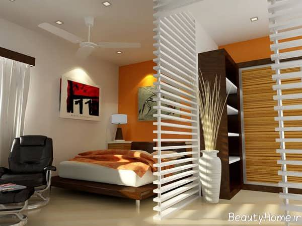 طراحی اتاق خواب 12 متری