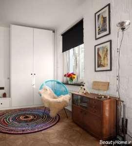 دکوراسیون خانه آپارتمانی کوچک و مدرن