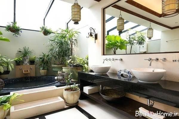 طراحی داخلی منزل به سبک استوایی