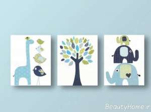 تابلو فانتزی برای اتاق کودک
