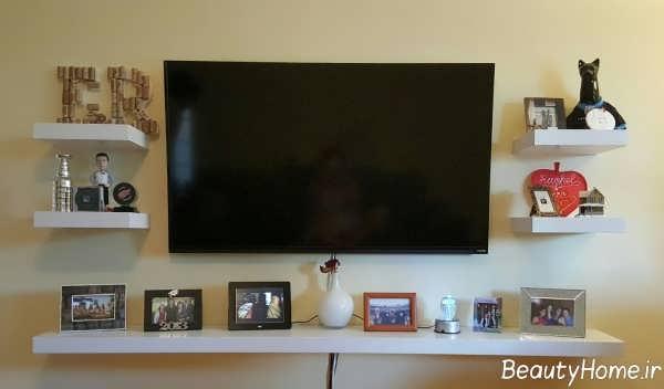 مدل میز تلویزیون دیواری