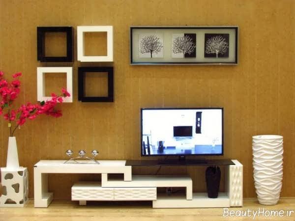 مدل قفسه دیواری تلویزیون