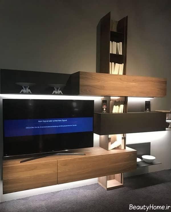 باکس دیواری تلویزیون مدرن