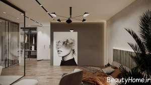 اتاق پذیرایی مدرن