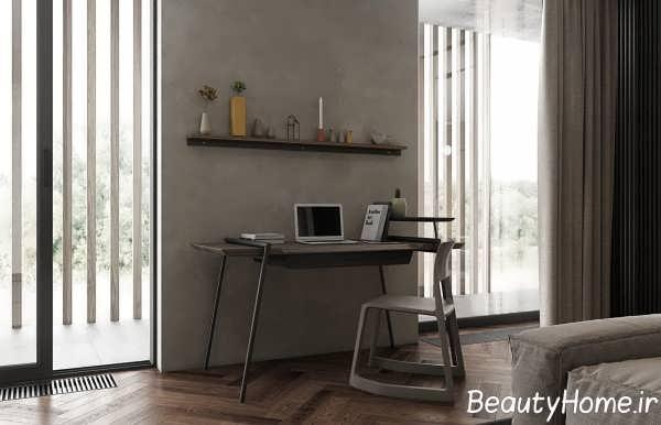 اتاق با رنگ خاکستری