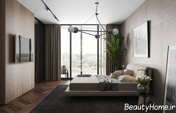 اتاق خواب با تم ترکیبی