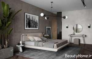 اتاق خواب با تم خنثی