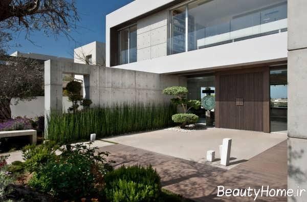 طراحی فضای بیرونی ویلا