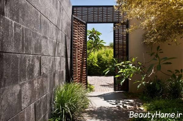 درب زیبای فضای سبز ویلا