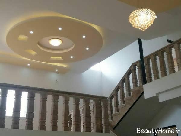 طراحی نورپردازی کناف سقف