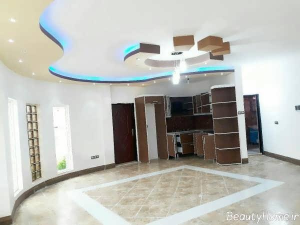 طراحی نورپردازی برای سقف کاذب کناف