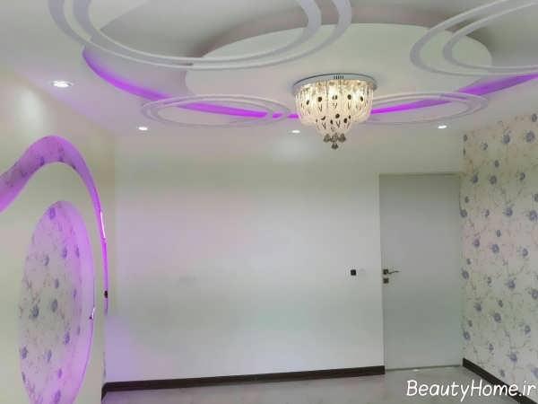 طراحی نورپردازی برای سقف کناف