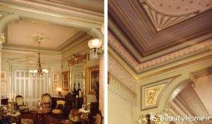 کاغذ دیواری سقفی زیبا و شیک