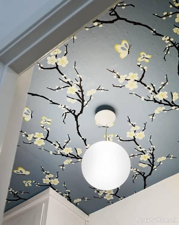 مدل کاغذ سقفی زیبا و شیک