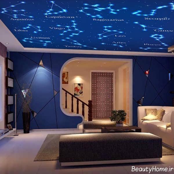 کاغذ سقفی زیبا و جدید